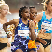 BRUSSELS, BELGIUM:  September 3:  Daisy Cherotich of Kenya in action during the 5000m race for women during the Wanda Diamond League 2021 Memorial Van Damme Athletics competition at King Baudouin Stadium on September 3, 2021 in  Brussels, Belgium. (Photo by Tim Clayton/Corbis via Getty Images)