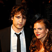 NLD/Amsterdam/20100629 - Premiere Twilight Saga - The Eclipse, Tamara Brinkman en partner