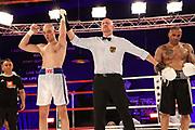 Boxen: Universum Boxpromotion, Boxgala, Hamburg, 19.06.2021<br /> WBC-Youth-Weltmeisterschaft: Sasha Alexander (GER) - Michael Klempert (GER)<br /> © Torsten Helmke