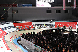 13.01.2011, Bremen Arena, Bremen, GER, Bremer Sechs Tage Rennen, im Bild Das Fahrerfeld der Sixdays   EXPA Pictures © 2011, PhotoCredit: EXPA/ nph/  Frisch       ****** out of GER / SWE / CRO ******