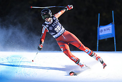 27.01.2018, Lenzerheide, SUI, FIS Weltcup Ski Alpin, Lenzerheide, Riesenslalom, Damen, im Bild Kristin Lysdahl (NOR) // Kristin Lysdahl of Norway in action during the ladie's Giant Slalom of FIS ski alpine world cup in Lenzerheide, Austria on 2018/01/27. EXPA Pictures © 2018, PhotoCredit: EXPA/ Sammy Minkoff<br /> <br /> *****ATTENTION - OUT of GER*****