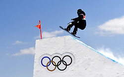 12-02-2018 SNOWBOARDEN: SLOPESTYLE: OLYMPISCHE SPELEN: OLYMPIC GAMES: PEYONGCHANG 2018<br /> Sofya Federova (RUS) (OAR)<br /> <br /> Foto: Soenar Chamid