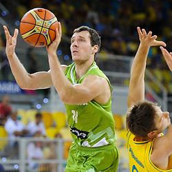 20140830: ESP, Basketball - 2014 FIBA World Championship, Slovenia vs Australia