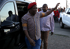 Julius Malema in Duncan Village township ahead of EFF 5th Birthday - 23 July 2018
