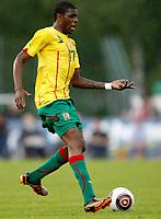 Fotball<br /> Kamerun v Georgia<br /> Lienz Østerrike<br /> 25.05.2010<br /> Foto: Gepa/Digitalsport<br /> NORWAY ONLY<br /> <br /> FIFA Weltmeisterschaft 2010 in Suedafrika, Vorberichte, Vorbereitung, Vorbereitungsspiel, Freundschaftsspiel, Laenderspiel, Kamerun vs Georgien. <br /> <br /> Bild zeigt Mohamadou Idrissou (CMR)