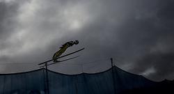 01.01.2016, Olympiaschanze, Garmisch Partenkirchen, GER, FIS Weltcup Ski Sprung, Vierschanzentournee, Probedurchgang, im Bild Killian Peier (SUI) // Killian Peier of Switzerland during his Trial Jump for the Four Hills Tournament of FIS Ski Jumping World Cup at the Olympiaschanze, Garmisch Partenkirchen, Germany on 2016/01/01. EXPA Pictures © 2016, PhotoCredit: EXPA/ JFK