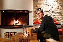 18.01.2018, Team Hotel, Oberstdorf, GER, FIS Skiflug Weltmeisterschaft, im Bild Clemens Aigner (AUT) // Clemens Aigner of Austria before the FIS Ski Flying World Championships at the Team Hotel in Oberstdorf, Germany on 2018/01/18. EXPA Pictures © 2018, PhotoCredit: EXPA/ JFK