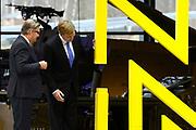Koning Willem Alexander opent Nationaal Militair Museum op het voormalig vliegveld Soesterg. In het museum zijn de collecties van het Legermuseum in Delft en het Militair Luchtvaart Museum in Soesterberg samengevoegd. <br /> <br /> <br /> King Willem Alexander opens National Military Museum at the former airport Soesterg. In the museum are the collections of the Army Museum in Delft and the Military Aviation Museum in Soesterberg merged.<br /> <br /> op de foto / On the photo: <br /> <br />  Koning Willem-Alexander en directeur Stichting Defensiemusea Paul van Vlijmen verrichten de opening<br /> <br /> <br /> King Willem-Alexander and Director Defence Foundation Museums Paul van Vlijmen perform the opening