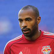 Thierry Henry, New York Red Bulls, warming up before the New York Red Bulls V New England Revolution, Major League Soccer regular season match at Red Bull Arena, Harrison, New Jersey. USA. 20th April 2013. Photo Tim Clayton