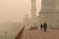Morning visit to the Taj Mahal in Agra, Uttar Pradesh, India