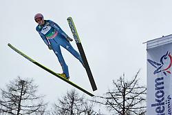 17.03.2011, Planica, Kranjska Gora, SLO, FIS World Cup Finale, Ski Nordisch, Skiflug, im Bild Michael Neumayer (GER, #53) // Michael Neumayer (GER) during a training session of the Ski Jumping World Cup finals in Planica, Slovenia, 17/3/2011. EXPA Pictures © 2011, PhotoCredit: EXPA/ J. Groder