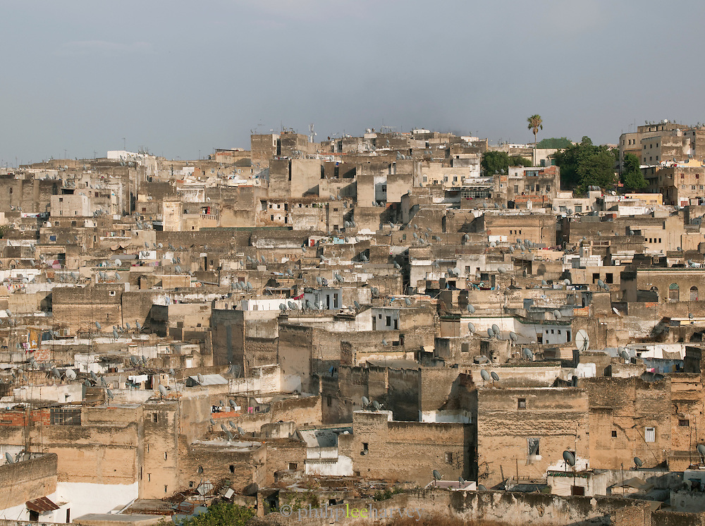 View of the medina in Fes, Morocco