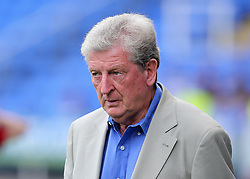 Crystal Palace Manager Roy Hodgson prepares for kick off during the pre-season friendly match at the Madejski Stadium, Reading.