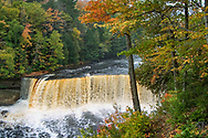 Tahquamenon Falls In The Autumn, Michigan's Upper Peninsula