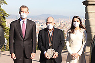 122120 Spanish Royals delivery Cervantes Award to Joan Margarit