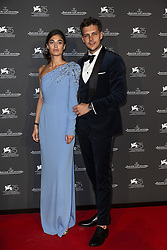 Milos Bikovic, Darya Tarasova attends the Jaeger Le-Coultre Gala night held at Arsenale Docks during the 75th Venice Film Festival at Sala Grande on September 4, 2018 in Venice, Italy. Photo by Marco Piovanotto/ABACAPRESS.COM