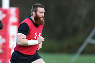 Jake Ball, the Wales rugby player in action during the Wales rugby team training session at the Vale Resort Hotel in Hensol, near Cardiff , South Wales on Thursday 23rd November 2017.  the team are preparing for their Autumn International series test match against New Zealand this weekend.   pic by Andrew Orchard