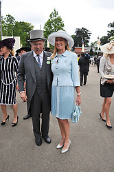 SIR DAVID & LADY CARINA FROST at day 2 of the 2011 Royal Ascot Racing festival at Ascot Racecourse, Ascot, Berkshire on 15th June 2011.