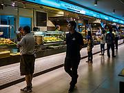 02 JULY 2018 - BANGKOK, THAILAND: The food court in MBK shopping mall in Bangkok. The food court has a concentration of Thai street food styles venders.  PHOTO BY JACK KURTZ