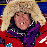 Will Steger on Arctic Ocean during International Arctic Project, 1995