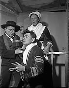Dress rehearsal for new play at Damer Hall <br />11/12/1959