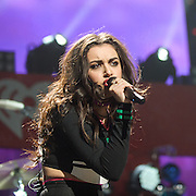 WASHINGTON, DC - December 15th, 2014 - Charli XCX performs onstage during HOT 99.5's Jingle Ball 2014 at the Verizon Center in Washington, D.C. Her third studio album, Sucker, was released today. (Photo By Kyle Gustafson / For The Washington Post)