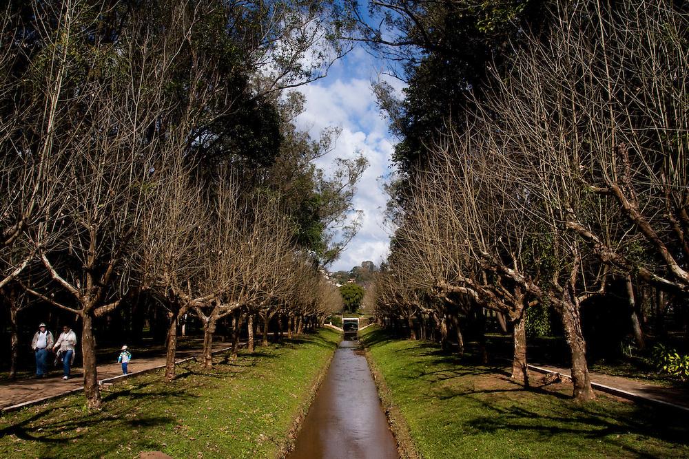 Caxambu_MG, Brasil...Corrego Bengo no Parque das Aguas em Caxambu...The Bengo stream in Parque das Aguas in Caxambu..Foto: MARCUS DESIMONI / NITRO