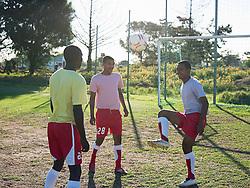 Jul. 26, 2012 - Men playing football (Credit Image: © Image Source/ZUMAPRESS.com)