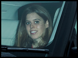 December 20, 2017 - London, London, United Kingdom - Image licensed to i-Images Picture Agency. 20/12/2017. London, United Kingdom. Princess Beatrice arriving for The Queen's Christmas lunch at Buckingham Palace in London. (Credit Image: © Stephen Lock/i-Images via ZUMA Press)