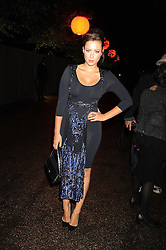 CAMILLA AL FAYED at the annual Serpentine Gallery Summer Party in Kensington Gardens, London on 9th September 2008.