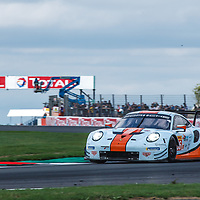 #86, Gulf Racing, Porsche 911 RSR, LMGTE Am, driven by: Michael Wainwright, Ben Barker, Alexander Davison at FIA WEC Silverstone 6h, 2018 on 19.08.2018