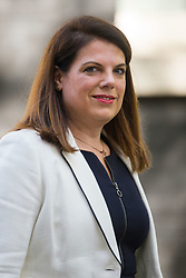 Minister of State for Immigration Caroline Nokes leaves the weekly UK cabinet meeting at 10 Downing Street in London, May 01 2018.