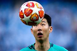 Son Heung-Min of Tottenham Hotspur - Mandatory by-line: Robbie Stephenson/JMP - 17/04/2019 - FOOTBALL - Etihad Stadium - Manchester, England - Manchester City v Tottenham Hotspur - UEFA Champions League Quarter Final 2nd Leg