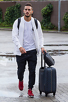 Spainsh Koke Resurreccion arriving at the concentration of the spanish national football team in the city of football of Las Rozas in Madrid, Spain. August 28, 2017. (ALTERPHOTOS/Rodrigo Jimenez)