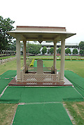 India, Delhi, Mahatma Gandhi Memorial at the site of his assassination in 1948