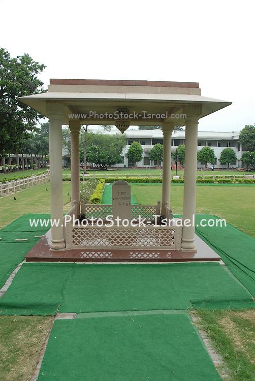 India, Delhi, Mahatma Gandhi Memorial at the site of his assassination in 1948