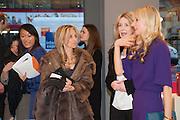 PIA GETTY; CALGARY AVANSINO; , Smythson Sloane St. Store opening. London. 6 February 2012.
