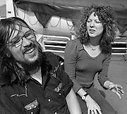Peter Jenner with Angie Errigo