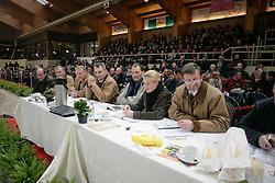 Jury : Schepers Boudewijn, Van de Vijver Roger, Vilain Jean, Floren Leon, Meurrens Inge, Van Roosbroeck Maurice, Van Laer Nick<br /> BWP Hengstenkeuring 2006<br /> Photo © Hippo Foto