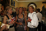 Sahar Hashemi, Sabrina Guinness and India Hicks, Summer Exhibition preview party. Royal Academy. Piccadilly. London. 7 June 2006. ONE TIME USE ONLY - DO NOT ARCHIVE  © Copyright Photograph by Dafydd Jones 66 Stockwell Park Rd. London SW9 0DA Tel 020 7733 0108 www.dafjones.com
