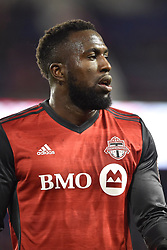 October 30, 2017 - Harrison, New Jersey, U.S - Toronto FC forward JOZY ALTIDORE (17) is seen at Red Bull Arena during the Audi 2017 MLS Cup Playoffs Eastern Conference Semifinal in Harrison New Jersey Toronto defeats New York 2 to 1 (Credit Image: © Brooks Von Arx via ZUMA Wire)