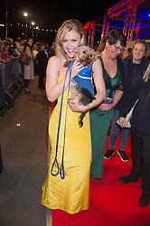 CAMILLA KERSLAKE at the Battersea Dogs & Cats Home's Collars & Coats Gala Ball held at Battersea Evolution, Battersea Park, London on 12th November 2015.