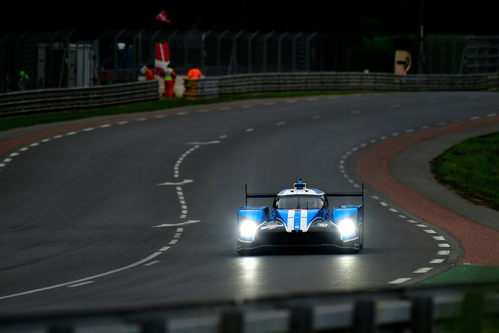 #6 CEFC TRSM RACING Ginetta G60-LT-P1: Oliver Rowland, Alex Brundle, Oliver Turvey<br /> Thursday 14 June 2018<br /> 24 Hours of Le Mans<br /> 2018 24 Hours of Le Mans<br /> Circuit de la Sarthe  FR<br /> World Copyright: Scott R LePage