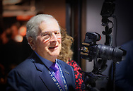 Garden City, New York, U.S.  November 14, 2019.  GENE LESSERSON takes photos in LEM ROOM during the 17th Annual Cradle of Aviation Museum Air and Space Gala. Lesserson is a volunteer photographer and docent at the museum.