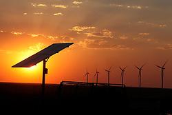 Windmills in Vegas, Texas