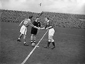 1956 - Soccer: League of Ireland v Irish League
