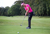 EEMNES - Golfprofessional Dewi Claire Schteefel , ambassadeur NGF GIRLZ golf, met clinic voor meisjes op GC de Goyer.  COPYRIGHT KOEN SUYK