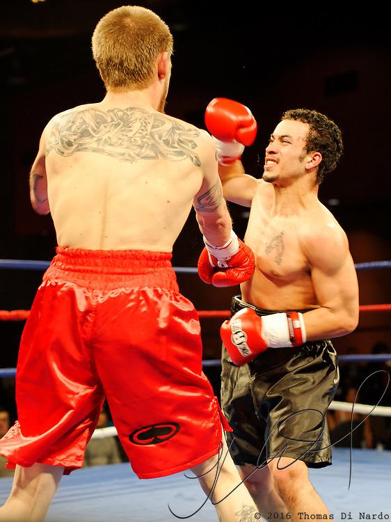 Nichoulas Briannes defeats Kendall Ward on December 13th at the Meidenbauer Center in Bellevue, WA.
