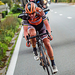 18-10-2020: Wielrennen: Ronde van Vlaanderen: Belgie<br /> The Ronde van Vlaanderen for Women was won by Chantal van den Broek-Blaak. Amy Pieters completed the success of Boels-Dolmans with a second place.<br /> The rider from Boels-Dolmans chose the right moment at the Oude Kwaremont.