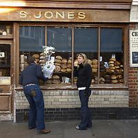 Jones Dairy, Columbia Road Market, London